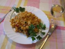 Arroz con sabor - Reispfanne mit spanischem Touch - Rezept