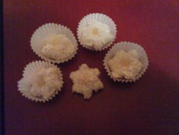 Pralinen: Sterne der Karibik (Pina Colada Sterne) - Rezept