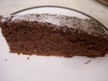 saftiger Schoko-Nuss Kuchen - Rezept