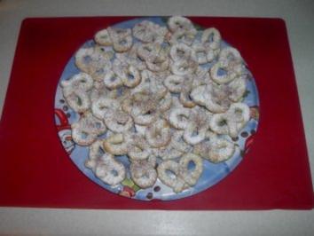 Marzipan - Brezeln - Rezept