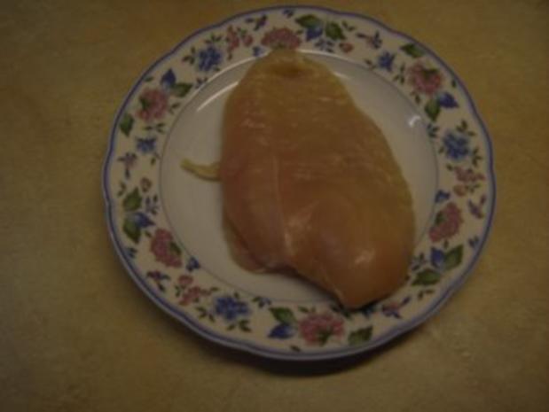 Fleisch - Hühnerbrust mit Oliven-Nuss-Kruste - Rezept - Bild Nr. 2