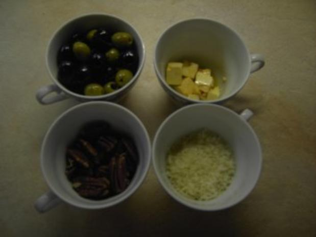 Fleisch - Hühnerbrust mit Oliven-Nuss-Kruste - Rezept - Bild Nr. 3