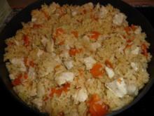 chinesische Brat - Reis - Pfanne - Rezept