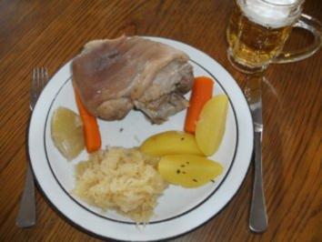 Fleisch: Eisbein - klassisch - Rezept