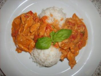 Scharfes Paprika-Hühnchen - Rezept
