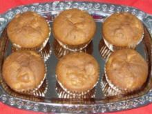 Kleingebäck - Weihnachtliche Birnenmuffins - Rezept