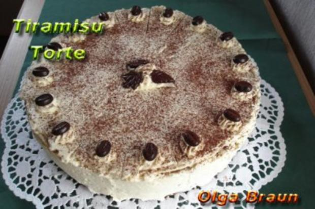 Meine Tiramisu-Torte - Rezept