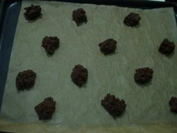Rezept: Double - Chocolate - Cookies