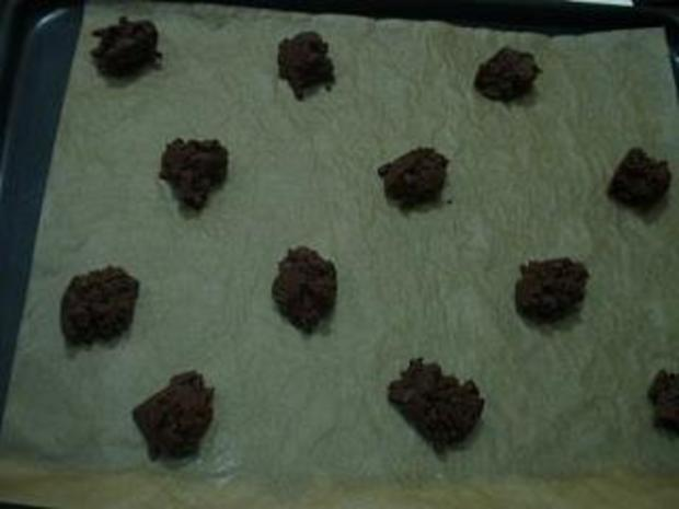 Double - Chocolate - Cookies - Rezept
