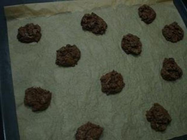 Double - Chocolate - Cookies - Rezept - Bild Nr. 2