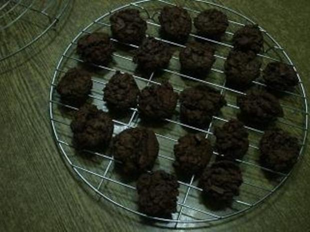 Double - Chocolate - Cookies - Rezept - Bild Nr. 3