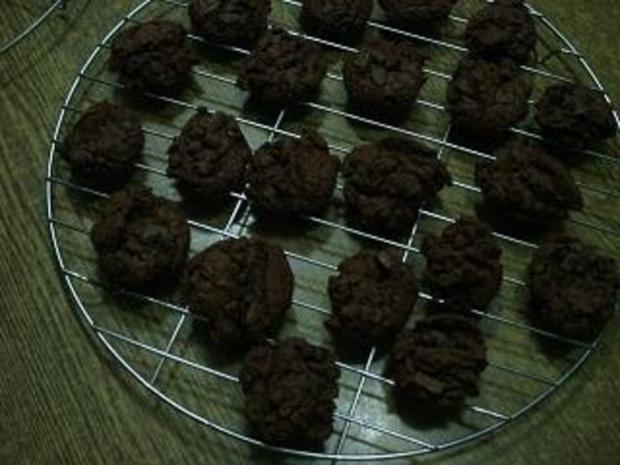 Double - Chocolate - Cookies - Rezept - Bild Nr. 4