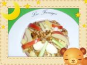 Walnuss-Käse-Salat mit Äpfeln - Rezept