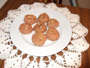 Schoko-Kokos-Nussmarkronen - Rezept