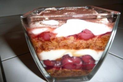 Lebkuchen-Weihnachts-Dessert - Rezept
