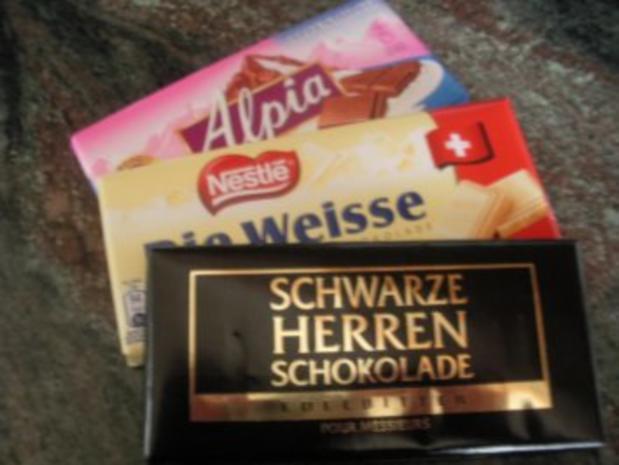 Dreierlei Schokoladenmousse - Rezept - Bild Nr. 2