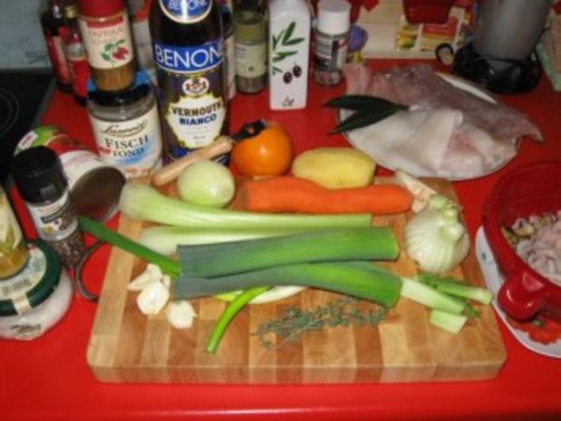 """meine """"Bouillabaisse"""" = südfranzösische Fischsuppe - Rezept - Bild Nr. 3"""