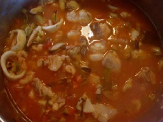 """meine """"Bouillabaisse"""" = südfranzösische Fischsuppe - Rezept - Bild Nr. 2"""