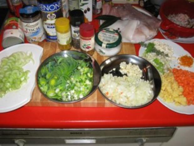 """meine """"Bouillabaisse"""" = südfranzösische Fischsuppe - Rezept - Bild Nr. 4"""