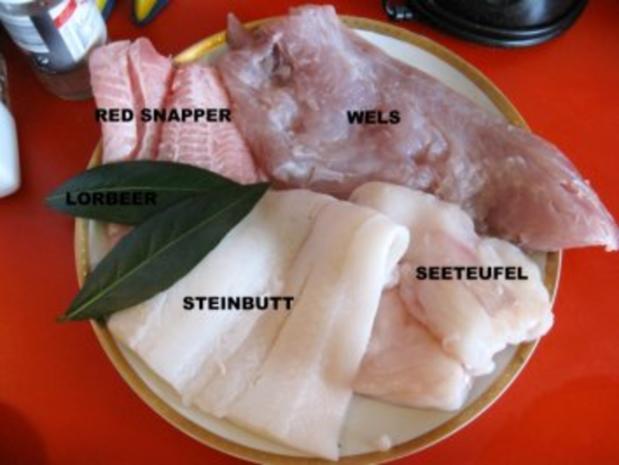 """meine """"Bouillabaisse"""" = südfranzösische Fischsuppe - Rezept - Bild Nr. 5"""