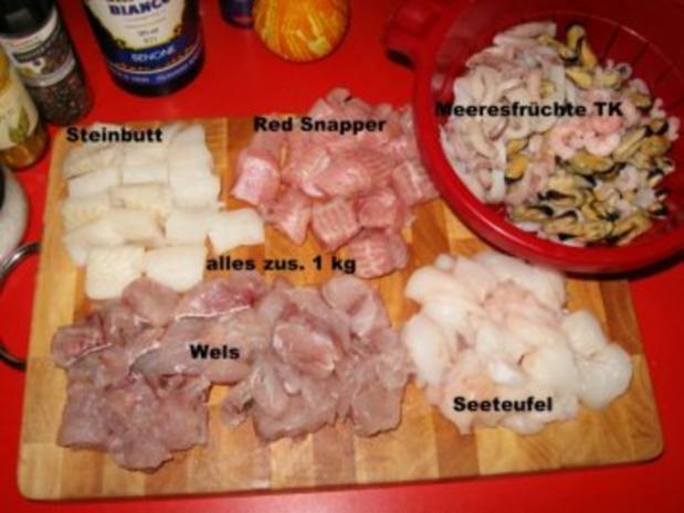 """meine """"Bouillabaisse"""" = südfranzösische Fischsuppe - Rezept - Bild Nr. 8"""