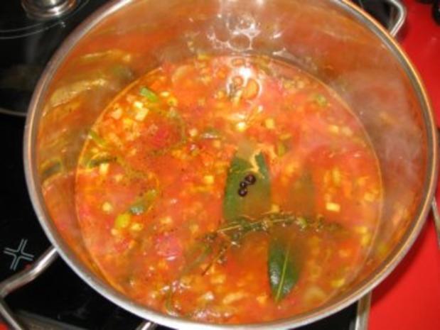 """meine """"Bouillabaisse"""" = südfranzösische Fischsuppe - Rezept - Bild Nr. 9"""