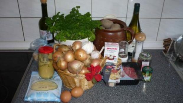 Rumänischer Hackfleischauflauf mit Kartoffeln - Rezept - Bild Nr. 2