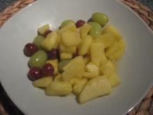 Heiße Amaretto-Früchte - Rezept