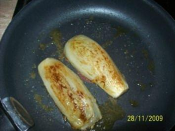 gebackenen Chicorée - Rezept