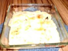 Vegetarisch überbackener Kartoffelbrei - Rezept