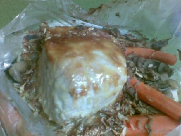 Schlauchbraten mit Pilzen und Karotten - Rezept - Bild Nr. 5