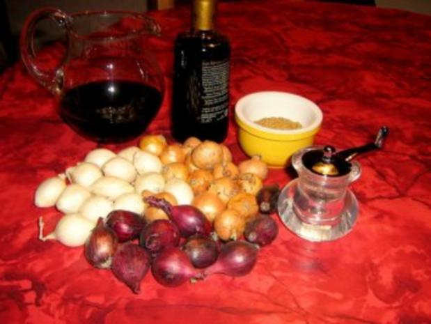 Balsamico-Rotwein-Zwiebel - Rezept - Bild Nr. 2