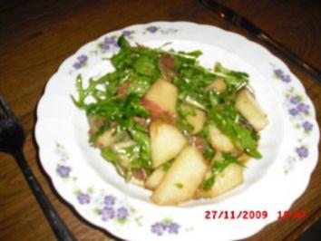 Honigmelonen Rucola Salat - Rezept