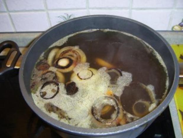 Klare Geflügel-Nudelsuppe - Rezept - Bild Nr. 6