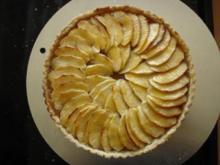 Französische Apfeltarte - Rezept