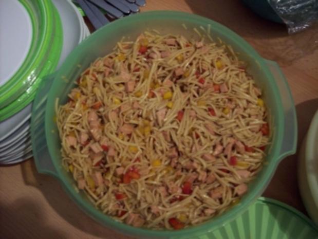 Asia-Nudel-Salat - Rezept