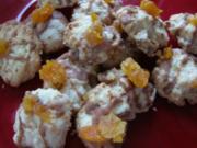Plätzchen - Aprikosen-Mascarpone-Wölkchen - Rezept