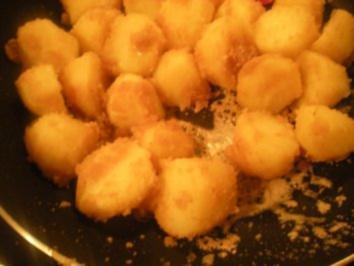 """Rezept: BEILAGEN- """"Knusper- Kartoffeln"""""""