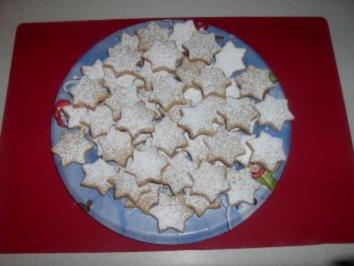 Pfefferkuchen - Sterne - Rezept