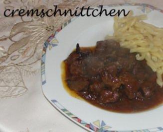 Wildschweingulasch - Rezept - Bild Nr. 2