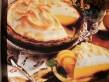 Zitronebaiser Pie - Ein leckerer Pie - sehr beliebt in Amerika- Einfach und Billig - Rezept