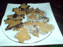 Vollkorn-Weihnachtsplätzchen - Rezept