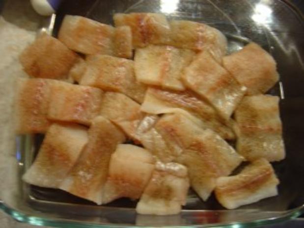 Fisch-Auflauf mit Porree und Frischkäse... - Rezept - Bild Nr. 3