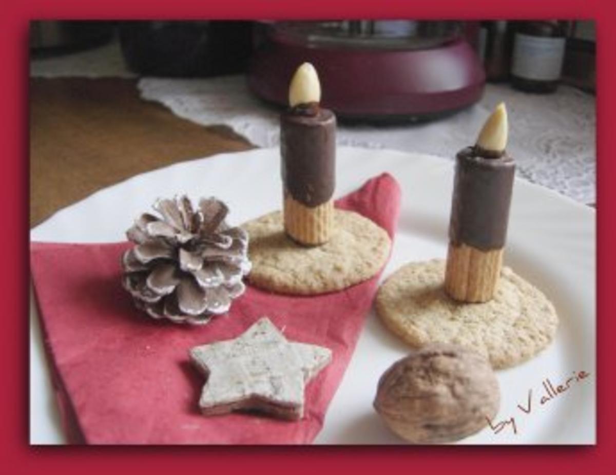 Bilder für Waffel-Kerzen - Rezept