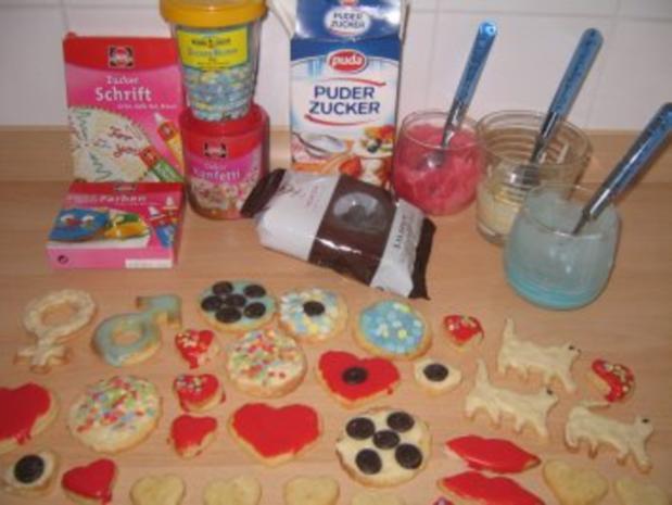 Einfache Kekse - Rezept - Bild Nr. 7