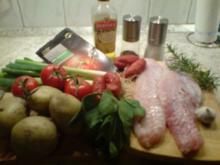 Knusper-Rotbarsch aus dem Ofen - Rezept