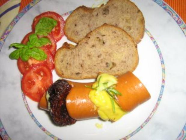 Gebackene Fleischwurst gefüllt - Rezept - Bild Nr. 6