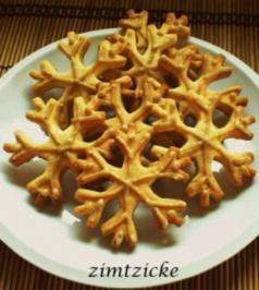 Rezept: Anisschneeflocken