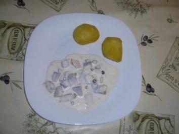 Rezept: Marinierte Heringe mit Orangensaft