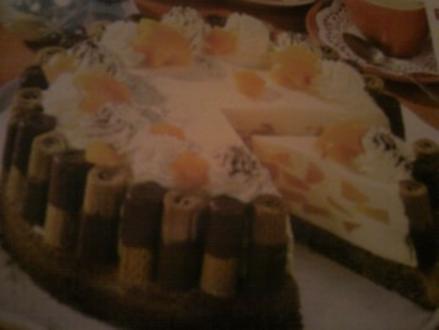 Pfirsich-Eierlikör-Torte - Rezept - Bild Nr. 2